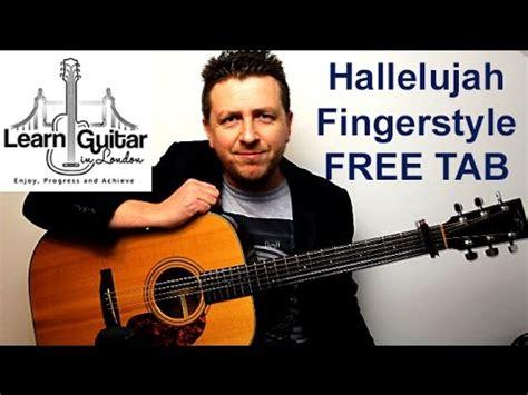 tutorial guitar hallelujah hallelujah fingerstyle guitar tutorial leonard cohen