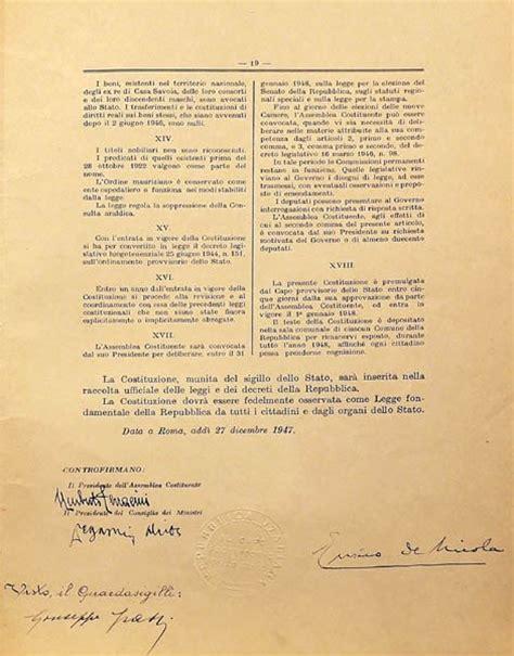 costituzione europea testo la costituzione italiana 171 n vigando