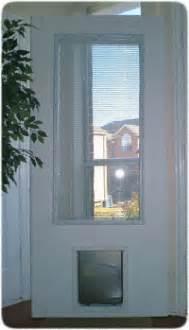 Exterior Door With Doggie Door Exterior Door With Built In Pet Door Pet Ready Xpd75 Door Free Shipping