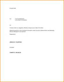 How To Write A Basic Resignation Letter by Tendering My Resignation