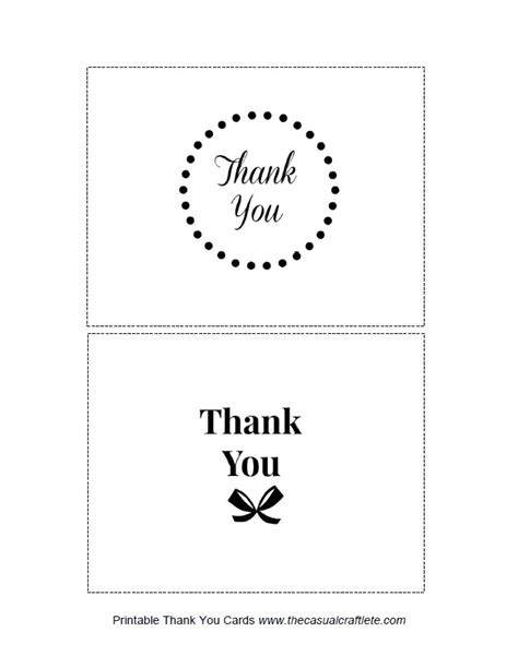 Free Professional Thank You Card Template by Homework A Creative Be My Guest Printable Thank