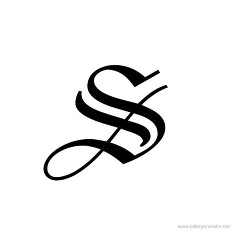 Amazing Graffiti Font Generator #8: Printable-letter-holyunion-s.jpg?v=2