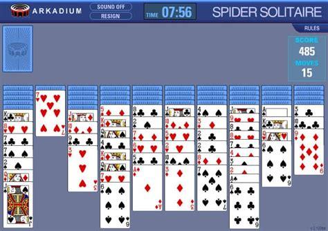 spider solitaire  uecretsiz  oyun funnygames
