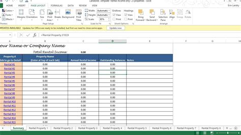 tenant payment record rental payment record template