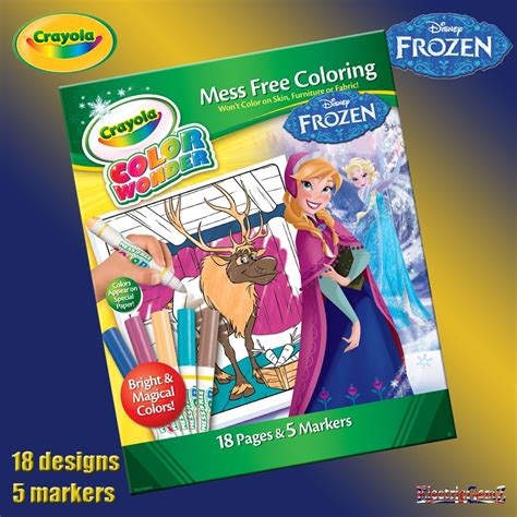 Frozen Crayola crayola disney frozen color