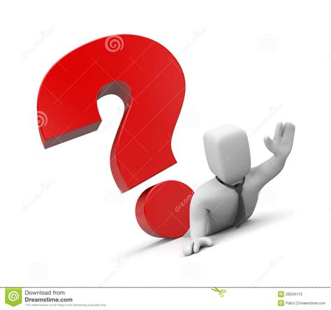 Or Difficult Question Difficult Question Stock Photos Image 23534113