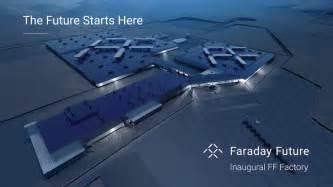 Electric Car Company In Nevada Faraday Future S 1 Billion American Ev Factory To