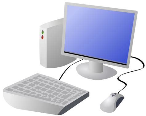 computer clipart domain clip image illustration of a computer