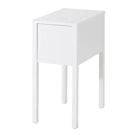 nordli bedside table w wireless charging ikea