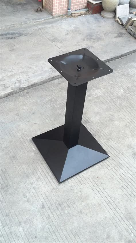 Pedestal Legs For Sale zhuoyue hardware supply 720mm height restaurant stand pedestal legs cast iron table legs for