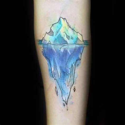 iceberg tattoo 50 iceberg tattoos for floating design ideas