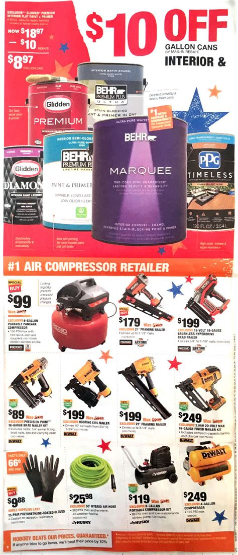 home depot weekly ad weekly ads