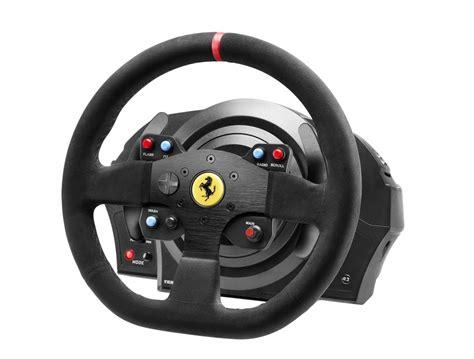 thrustmaster wheel thrustmaster t300 integral alcantara edition