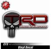 TRD Punisher Skull Toyota Tundra TacomaAmazonSports