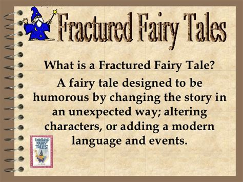 What Is A Tale Powerpoint Fractured Fairytale