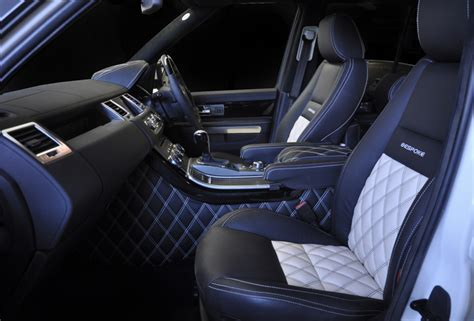 customized range rover interior range rover sport interior bespoke custom leather