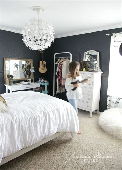 girl teen bedrooms amazing teen girl s bedroom makeover decoholic