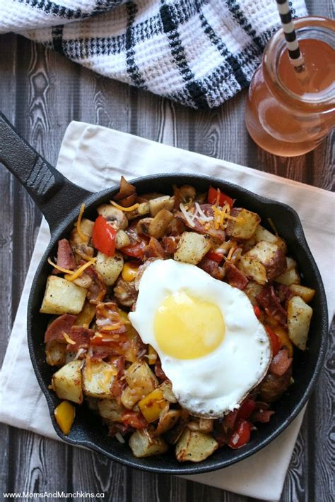 This Is Dedicated To Breakfasts by Skillet Breakfast Recipe Munchkins