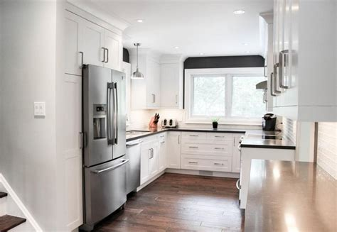 White Kitchen Design Images New Decor Cabinets In A Benjamin Moore Distant Gray