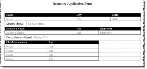create a form template create a form using word content controls