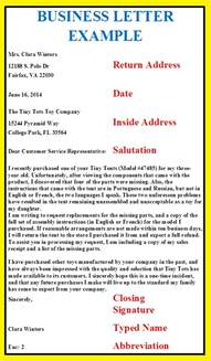 Business Letter Writing Style Letter Format Business Exles Search Letter Letters Business And
