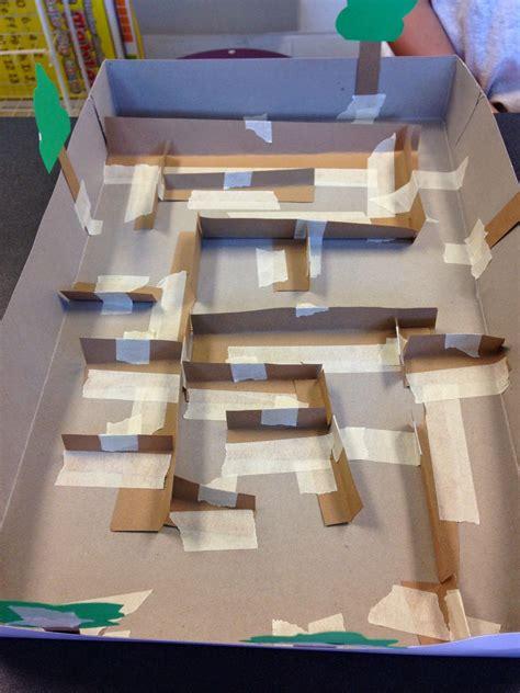 stem activity challenge build  marble maze marble maze maze  marbles