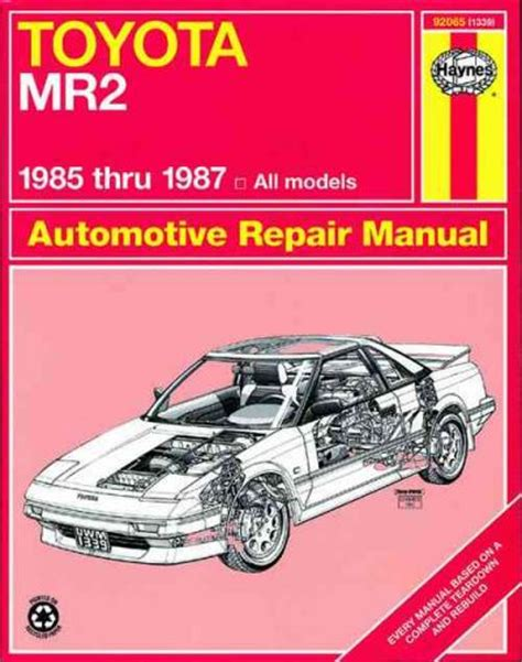 automotive air conditioning repair 1987 toyota mr2 spare parts catalogs toyota mr2 1985 1987 haynes service repair manual sagin workshop car manuals repair books