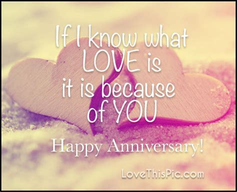 If I Know What Love Is Happy Anniversary Pictures, Photos