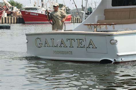 boat transom design galatea providence boat transom boats transom artwork