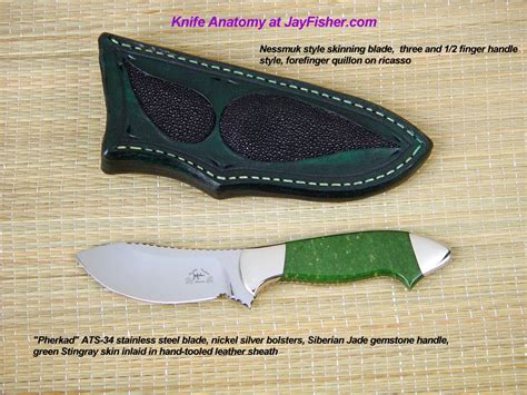 custom knife parts knife anatomy parts names by fisher