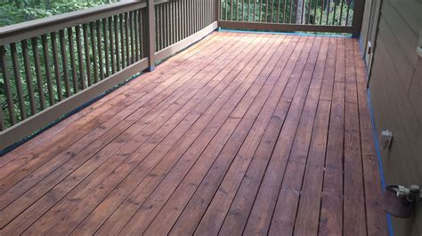 The Deck At by Decks How To Stain A Deck