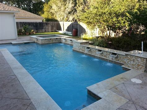 geometric pool designs houston pool design gallery