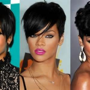 rihanna images of front and back hair styles rihanna hairstyles 2014