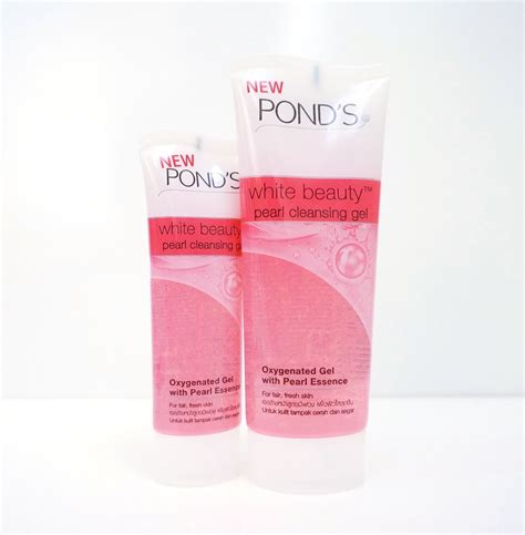 Ponds Wb 100g new in shelves pond s white pearl cleansing gel
