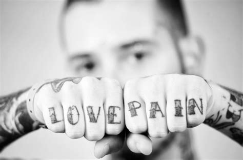 finger tattoos pain knuckle www pixshark images