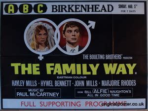 Family Way by Family Way Original Vintage Poster Original Poster