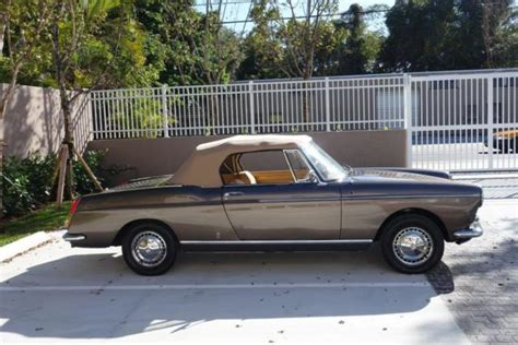 peugeot 404 coupe peugeot 404 c coupe convertible 1966 metallic brown for