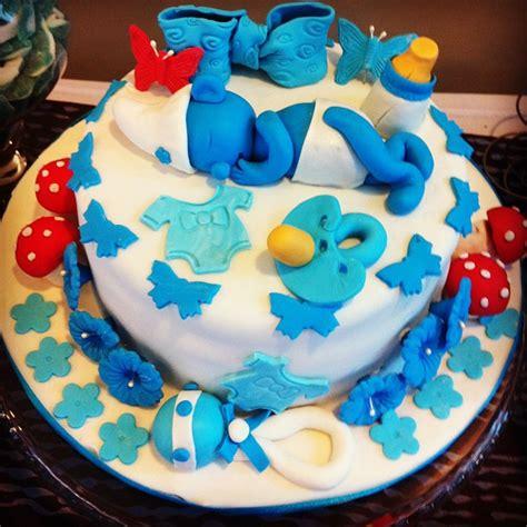 baby smurfs cake baby shower cake pinterest baby cake