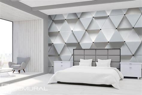 tappezzeria 3d il bianco della modernit 224 geometrica carta da parati
