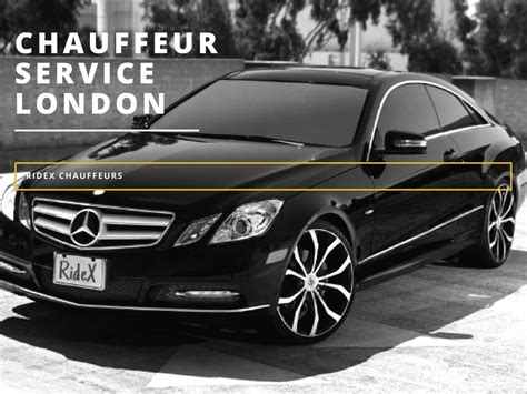 Luxury Chauffeur Service by Ridex Chauffeur Offer Executive Luxury Chauffeur Driven