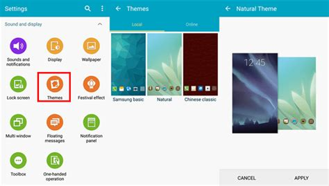 themes changer for android set up android smartphone as you wish