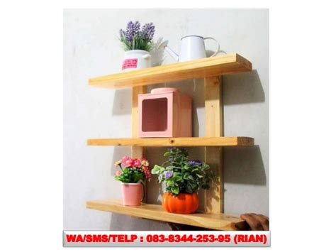 Jual Rak Hiasan Dinding 083834425395 agen furniture rak buku dinding murah