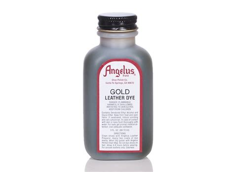 angelus paint gold angelus dyes paint gold 3oz leather dye leather