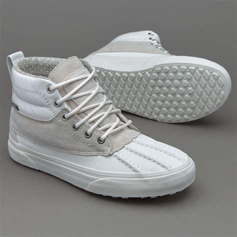 Sepatu Vans Sk8 Hi Original sepatu sneakers vans womens sk8 hi pato mte blanc de blanc