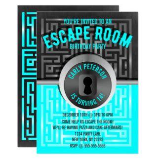 Puzzle Invitations Announcements Zazzle Free Escape Room Invitation Template