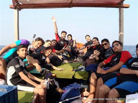 boat ride karachi churna island underwater photography cliff diving and
