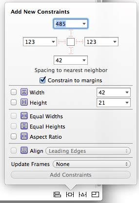 auto layout constraints xcode 6 working with ios 10 auto layout constraints in interface