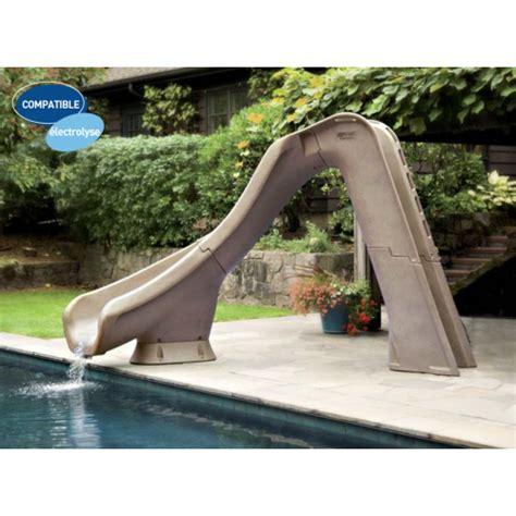 le de table solaire 1134 toboggan piscine typhoon