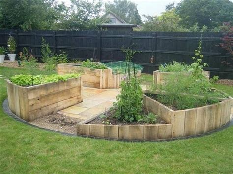 Unique Raised Garden Beds - wood pallet raised garden beds recycled things