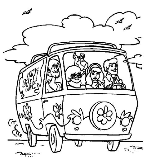 scooby doo coloring pages for halloween free coloring pages of scooby doo halloween